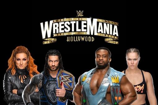WrestleMania 37 (Photo Credit: WWE/News18)