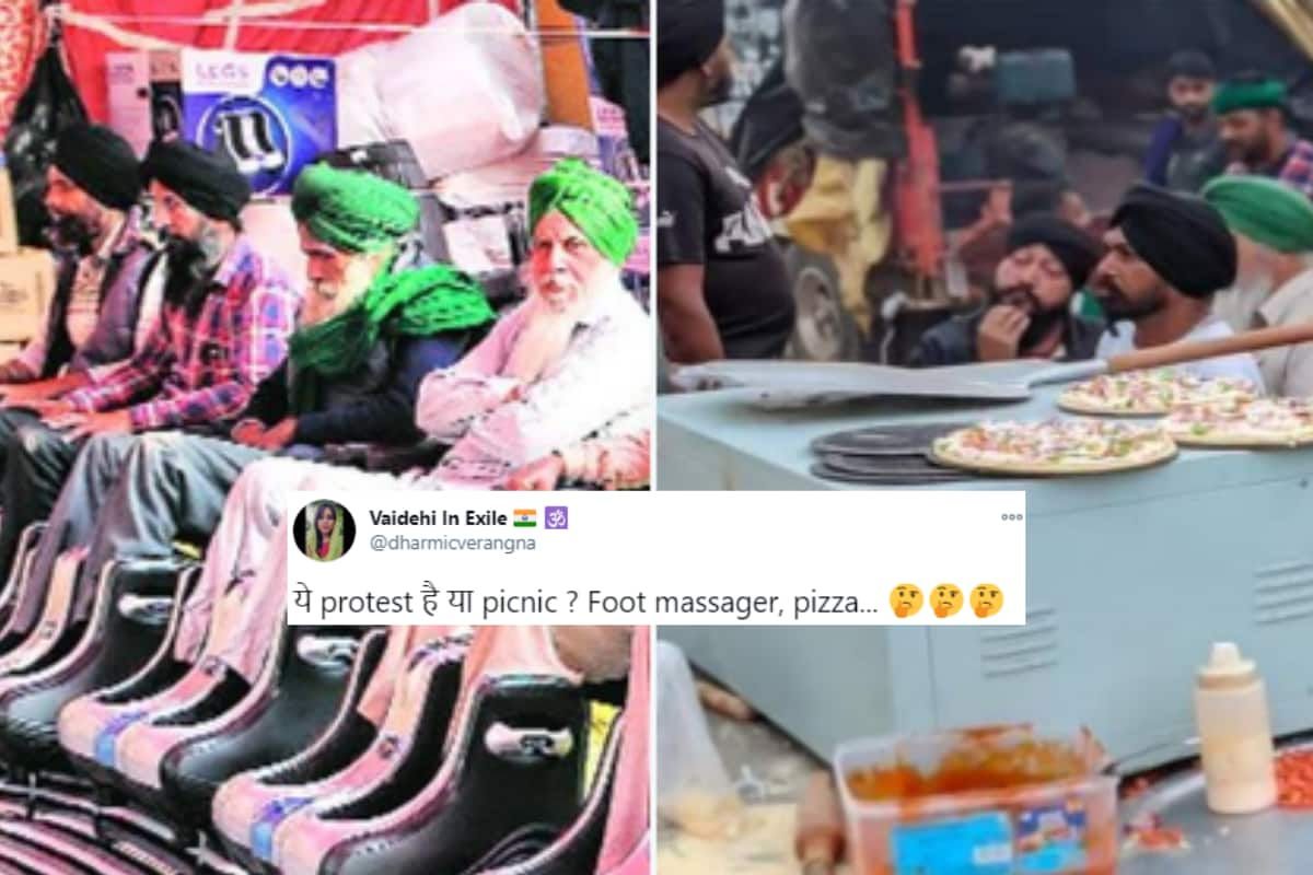 First Biryani, Now Pizza: Farmers Having 'Lavish' Meals at Protests  Outrages Netizens