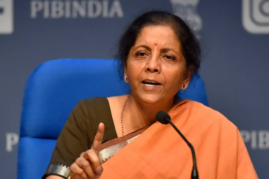 File photo of Union Finance Minister Nirmala Sitharaman.