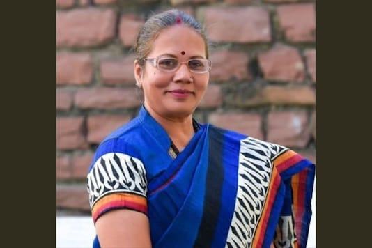 Chhattisgarh Women Commission President Kiran Mayee Nayak. (Twitter)