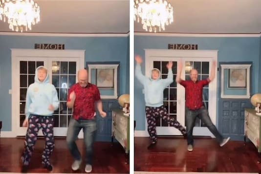 Watch: Father-Son Duo Dancing on SRK's Gori Gori has the Internet Tapping its Feet
