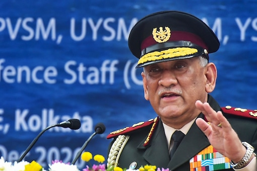 File photo of Chief of Defence Staff General Bipin Rawat.