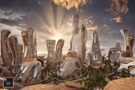 An image of Akon City created by the architect. Credit: Hussein Bakri/BAD Consult