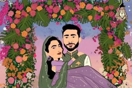 Soon-to-be Bride Gauahar Khan's Fan Makes a Funny Wedding Invitation, Actress Calls it 'Cute'