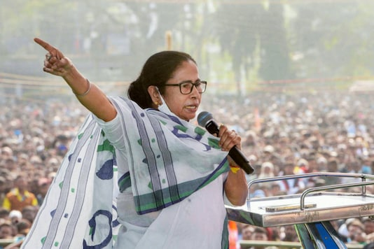 File photo of West Bengal Chief Minister Mamata Banerjee. (PTI)