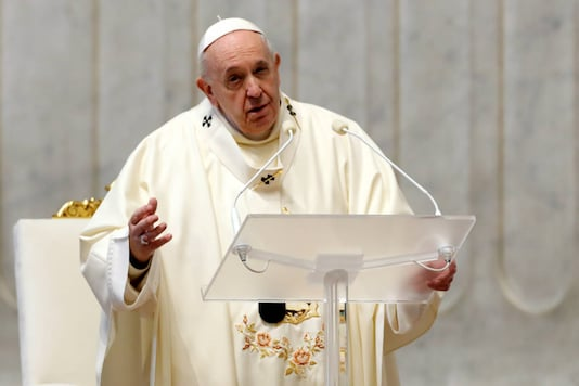 File photo of Pope Francis. (Reuters)