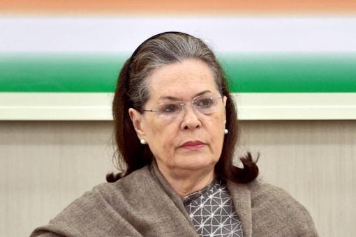 File photo of Congress chief Sonia Gandhi. (PTI)