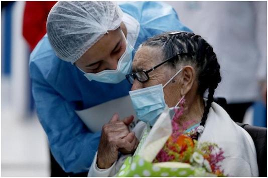 Coronavirus pandemic and eldercare | Image credit: Reuters