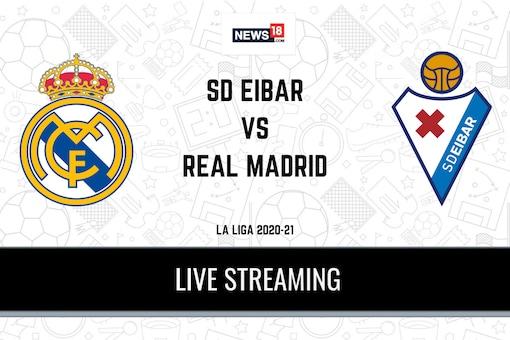 La Liga 2020-21 Eibar vs Real Madrid LIVE Streaming