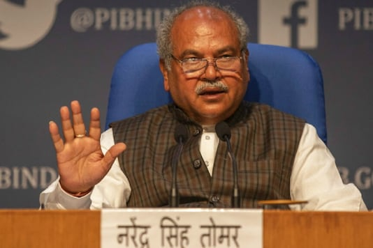 File photo of Union Agriculture Minister Narendra Singh Tomar.