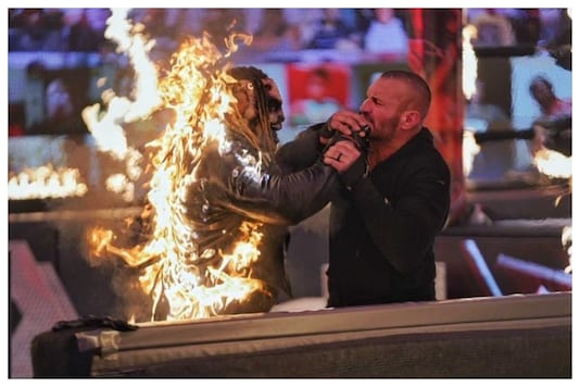 WWE TLC Results 2020 Randy Orton Bray Wyatt Highlights Commentary Online Tables Ladders Chairs 20th December Firefly Inferno Match