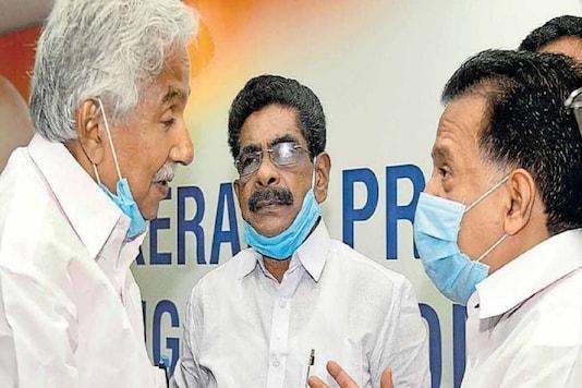 Senior UDF leaders Oommen Chandy, Mullappally Ramachandran and Ramesh Chennithala. (File photo)