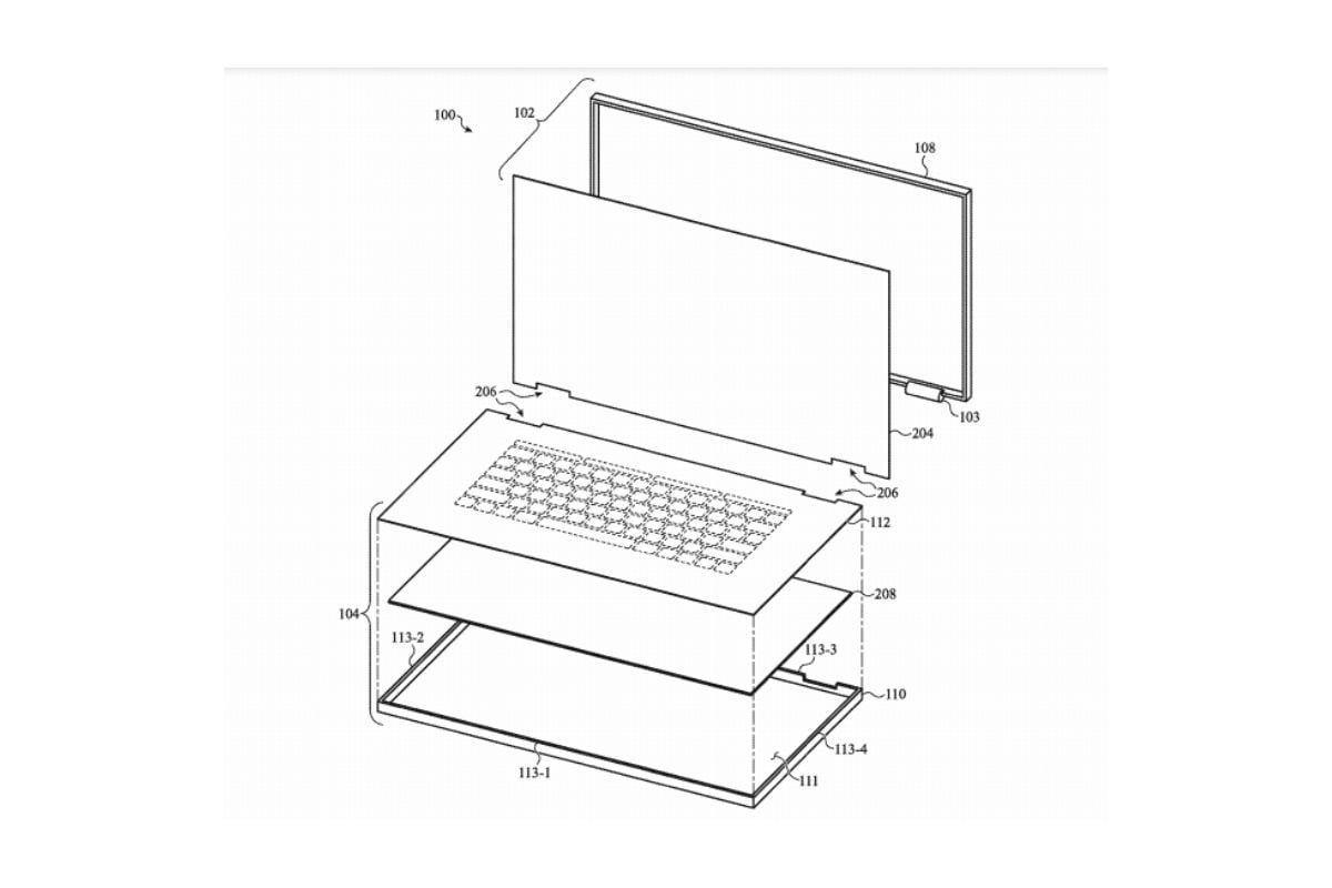 In Photos: Patent Hints Apple May Be Rethinking Keyboards for Its MacBook Laptops