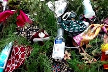 Indonesian Church Puts Masks, Sanitizer on Christmas Tree to Spread Awareness