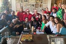 Ranbir Kapoor Wraps Arm Around Alia Bhatt in His Family's Annual Christmas Picture