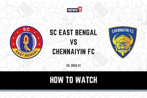 ISL: SC East Bengal vs Chennaiyin FC