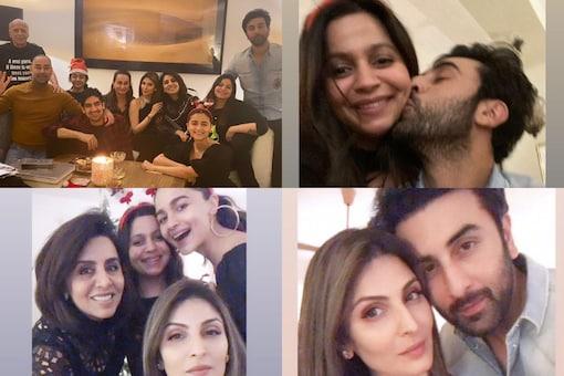 Ranbir Kapoor, Riddhima, Neetu Join Alia Bhatt and Her Family for Christmas Dinner