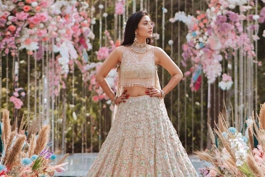 From Engagement to Wedding, See All the Looks of New Bride Dhanashree Verma