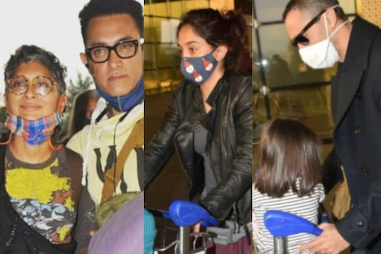 Aamir Khan Jets Off With Family For a Vacation, See Pics