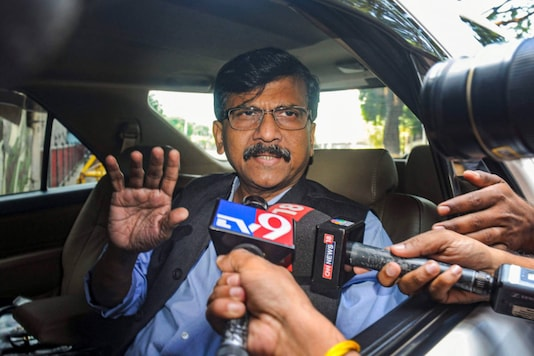 File photo of Shiv Sena leader Sanjay Raut. (PTI)