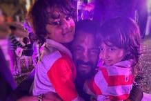 Salman Khan Hugs Riteish Deshmukh's Kids in This Cute Pic from Niece Ayat's Birthday Party