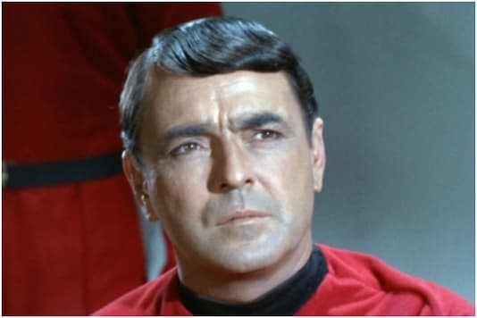 Star Trek actor James Doohan who played the character of 'Scotty' on the long-running television show | Image credit: IANS
