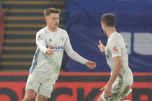 Harvey Barnes scored the equaliser for Leicester City. (Photo Credit: AP)