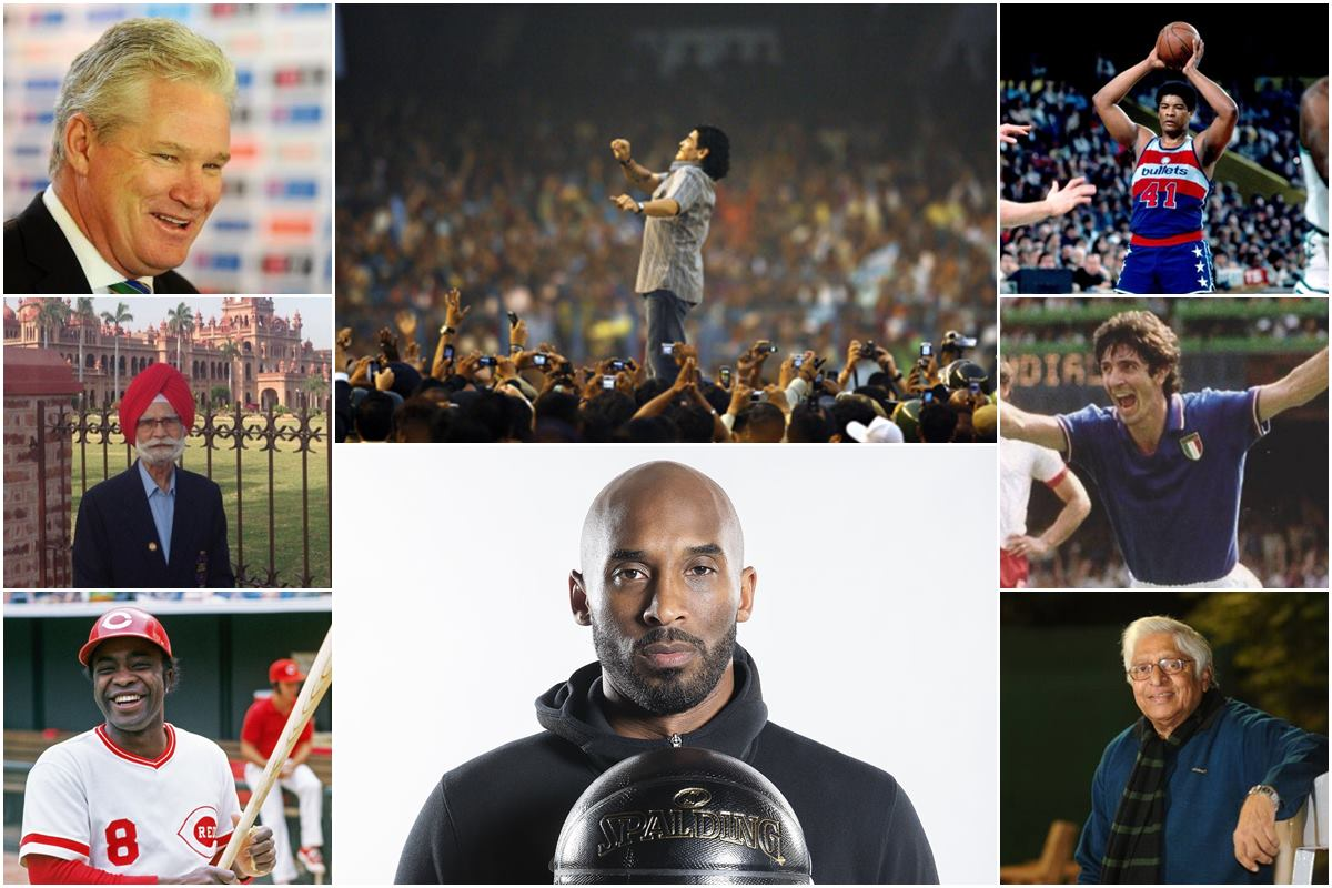 Remembering Sports Stars who Died in 2020