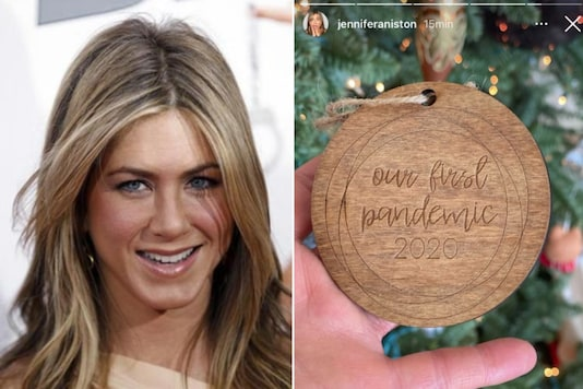 Jennifer Aniston panned for Christmas ornament | Image credit: Reuters/Instagram