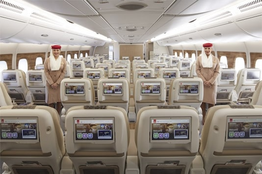 Emirates has taken signature A380 experience to the next level with the unveil of a brand new Premium Economy cabin product, together with enhancements and a refreshed look across all cabins onboard its newest A380 aircraft.  Image for representation.