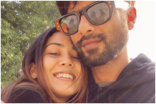 Mira Rajput Goes All Mushy in Selfie with Shahid Kapoor, Says 'I Love You'