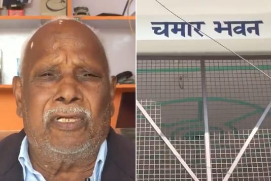 A Dalit man has become and inspiration for many after he named his home 'Chamar Bhawan' | Image credit: Twitter