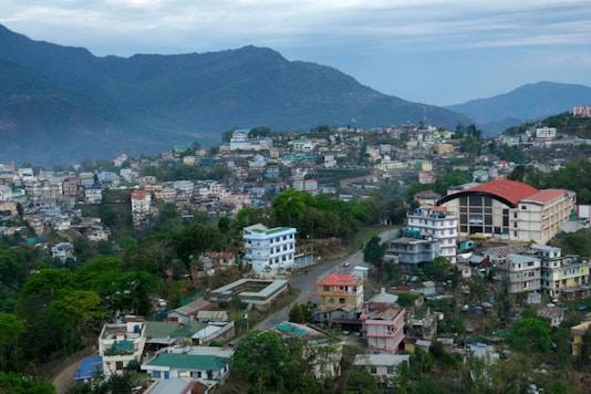 File photo of Kohima, the capital of Nagaland. (AP)