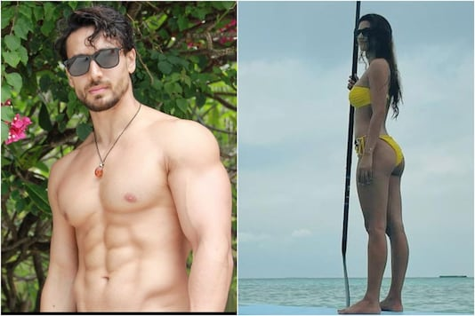 Disha Patani, Tiger Shroff are Vacationing in Maldives, Setting Internet on Fire