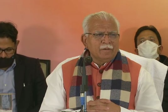 Haryana CM Manohar Lal Khattar. (ANI)