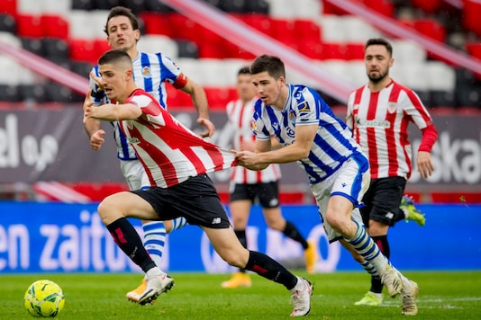 Real Sociedad and Athletic Bilbao in the Basque Derby (Photo Credit: Twitter)