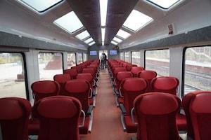 PM Modi Gives a Sneak Peek Into The New Jan Shatabdi Express with Vistadome Coaches