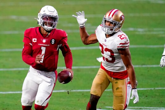 Cardinals' Murray Injured On Final Drive Against 49ers