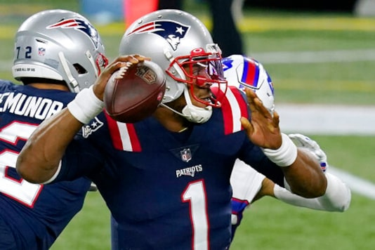 Newton's Future With Pats In Spotlight After Blowout Loss