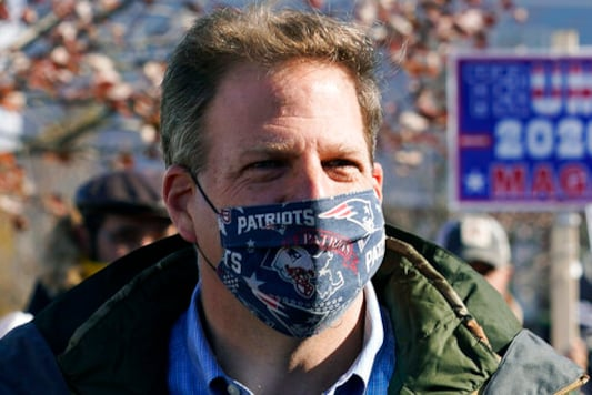 Governor Cancels Inaugural, Citing Mask Protests At His Home