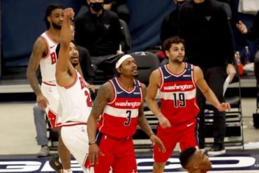Chicago Bulls and Washington Wizards (Photo Credit: AP)