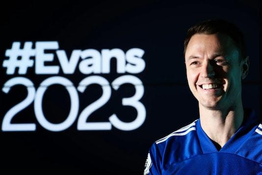 Leicester City's Jonny Evans (Photo Credit: Twitter)