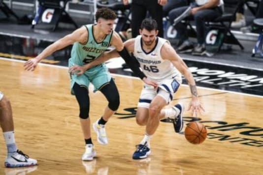 Memphis Grizzlies and  Charlotte Hornets (Photo Credit: AP)