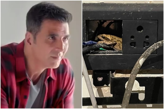 Akshay Kumar's Search for Phone Charging Point Leads Him to a Frog in the Socket