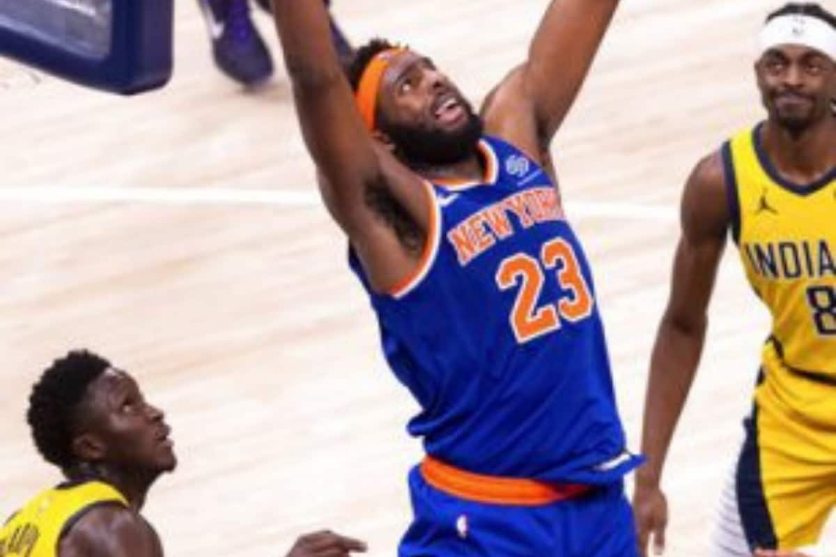 Nba 2020 21 Austin Rivers Helps New York Knicks Rally Late To Get Past Indiana Pacers 106 102