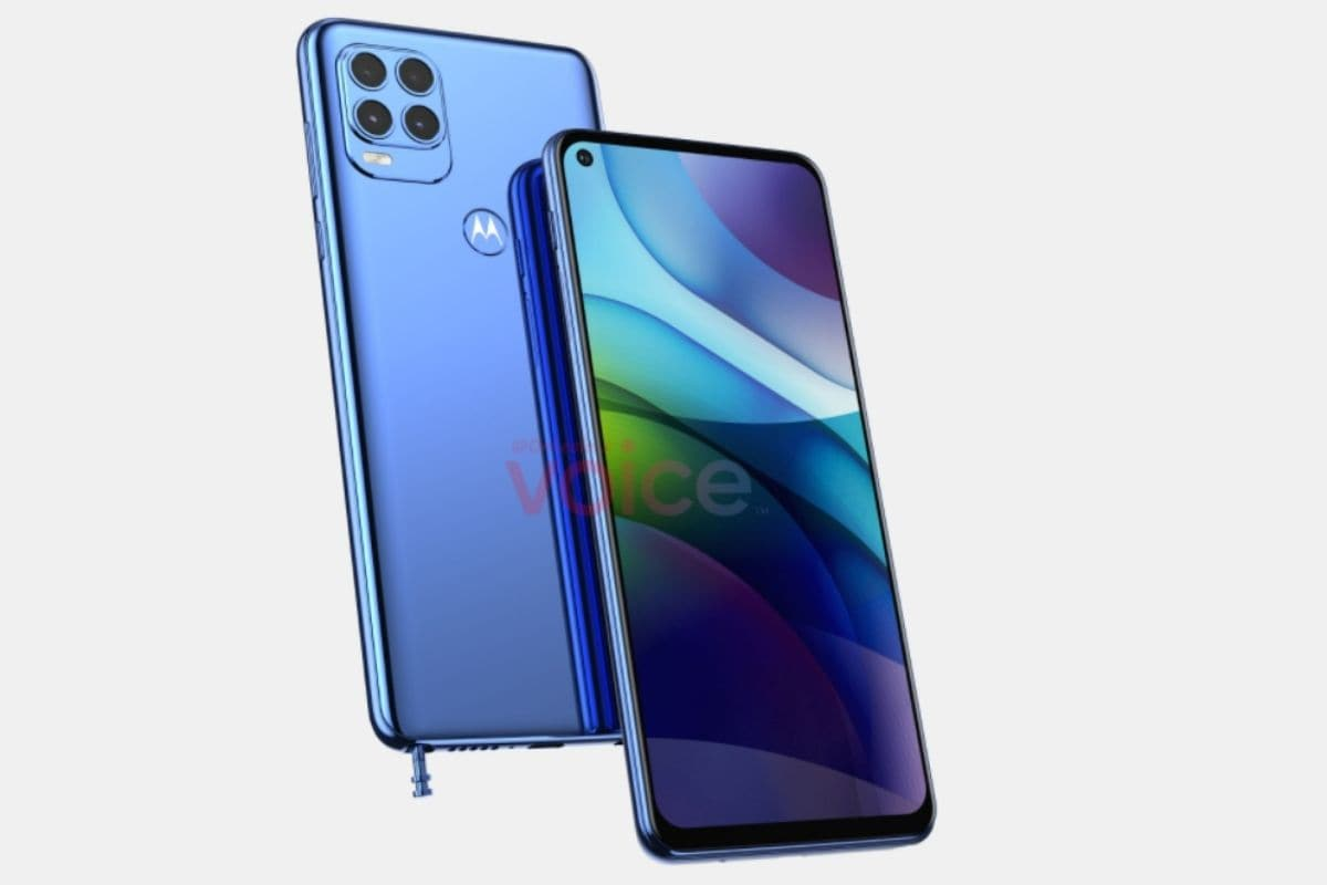 Motorola G Stylus 2021 New Renders Show Quad Cameras Inside Rectangular Module, Other Key Specs Leaked
