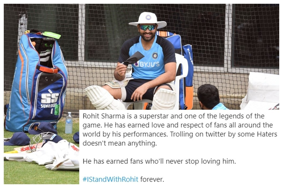 India vs Australia: Rohit Sharma Fans Hit Back at Trolls Outraging Over Alleged Consumption of Beef; Make #IStandWithRohit Trend on Twitter