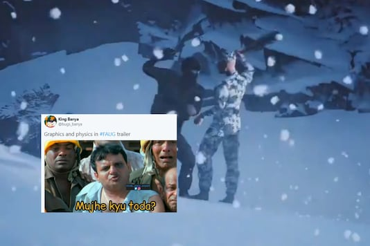 Screengrab from FAU-G video released by Akshay Kumar on Twitter.