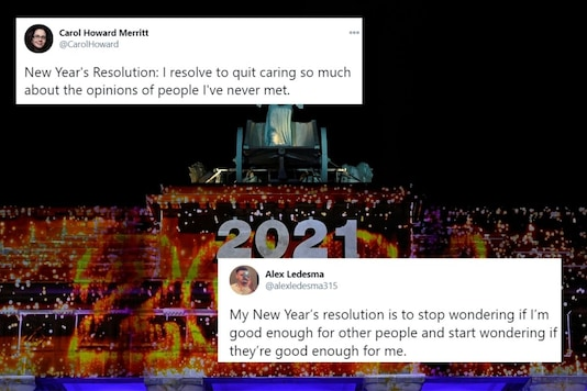 Netizen shared their New Year resolutions for 2021.