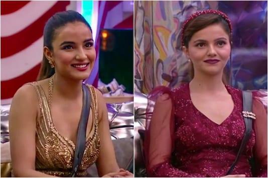 Jasmin Bhasin (L), Rubina Dilaik